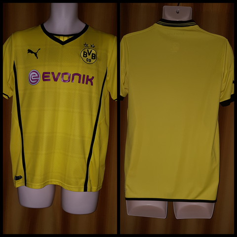 2013-14 Borussia Dortmund Domestic Home Shirt Size 34-36