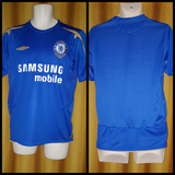 2005-06 Chelsea Home Shirt Size Small