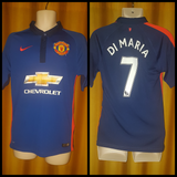 2014-15 Manchester United 3rd Shirt Size Small - Di Maria #7 - Forever Football Shirts