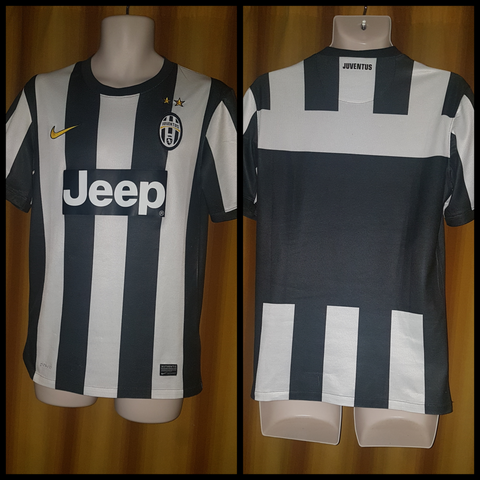 2012-13 Juventus Home Shirt Size Small - Forever Football Shirts