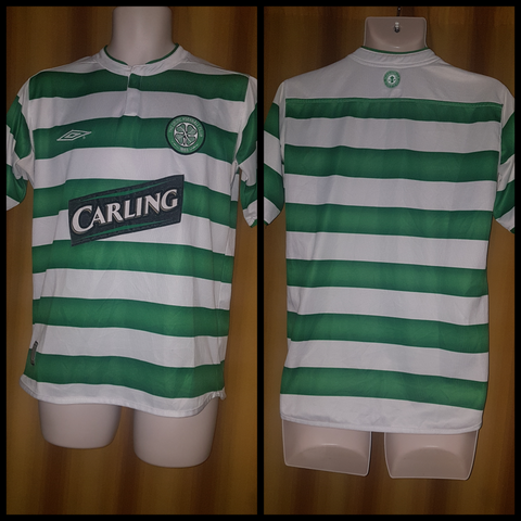 2003-04 Celtic Home Shirt Size Small - Forever Football Shirts