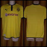 2012-13 Borussia Dortmund Domestic Home Shirt Size 34-36 - Forever Football Shirts