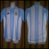 2002-04 Argentina Home Shirt Size Medium