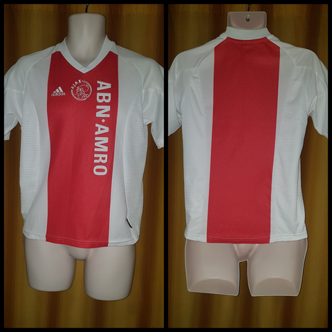 2002-04 Ajax Domestic Home Shirt Size Large Boys