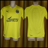 2010-11 Villarreal Home Shirt Size Small