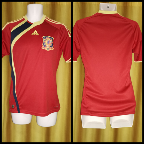 2009 Spain Home Shirt Size Small