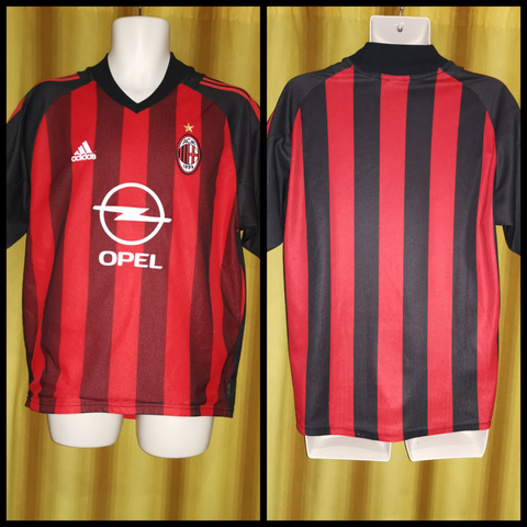 2002-03 AC Milan Home Shirt Size Medium
