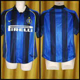 2001-02 Inter Milan Home Shirt Size Small