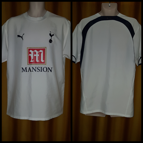 2006-07 Tottenham Hotspur Home Shirt Size Large - Forever Football Shirts