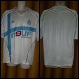 2005-06 Olympique de Marseille Home Shirt Size Large - Forever Football Shirts
