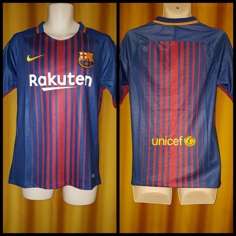 2017-18 Barcelona Home Shirt Size Medium (BNWT) - Forever Football Shirts