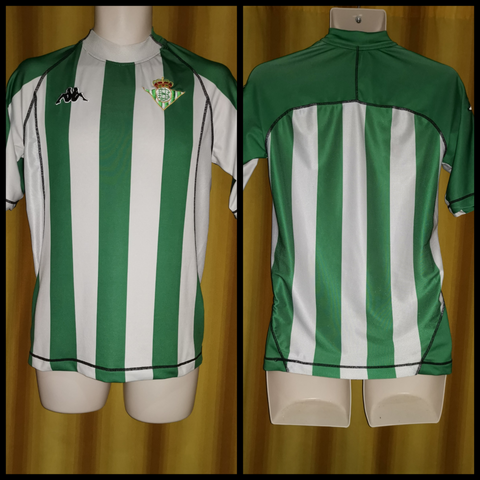 2004-05 Real Betis Home Shirt Size Large