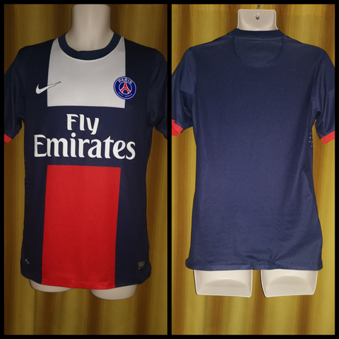 2013-14 Paris Saint Germain Home Shirt Size Medium
