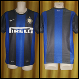 2012-13 Inter Milan Home Shirt Size Small