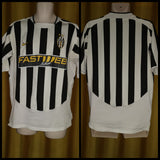 2003-04 Juventus Home Shirt Size Medium