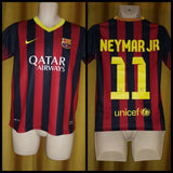 2013-14 Barcelona Home Shirt Size XL Boys - Neymar Jr #11