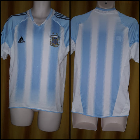 2004-05 Argentina Home Shirt Size Small