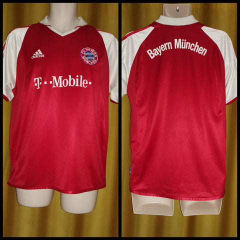 2003-04 Bayern Munich Domestic Home Shirt Size XL Boys