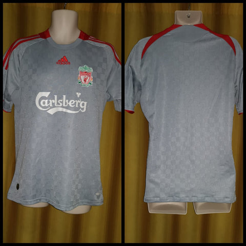 2008-09 Liverpool Away Shirt Size Medium