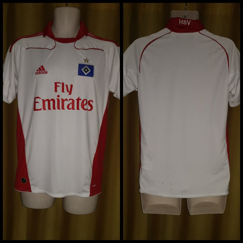 2010-11 HSV Hamburg Home Shirt Size 15-16 Yrs
