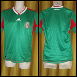 2010-11 Mexico Home Shirt Size Small