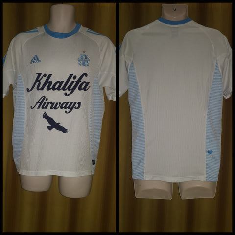 2002-03 Olympique de Marseille Home Shirt Size Small
