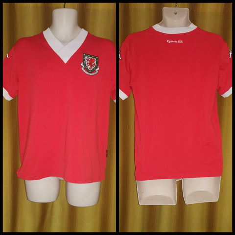 2006-07 Wales Home Shirt Size Extra Large