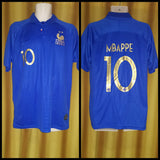 2019 France Centenary Home Shirt Size XXL - Mbappe #10 (BNWT)