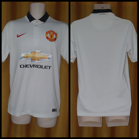 2014-15 Manchester United Away Shirt Size Small