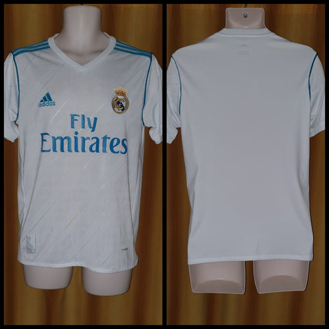 2017-18 Real Madrid Home Shirt Size Small