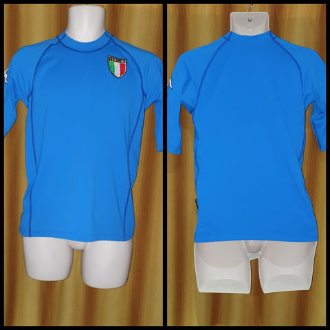 2000-02 Italy Home Shirt Size Medium