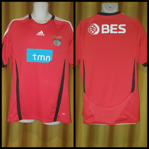 2008-09 Benfica Home Shirt Size Large