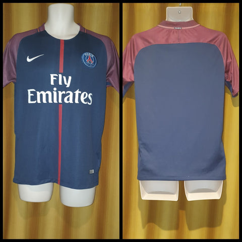 2017-18 Paris Saint Germain Home Shirt Size Small