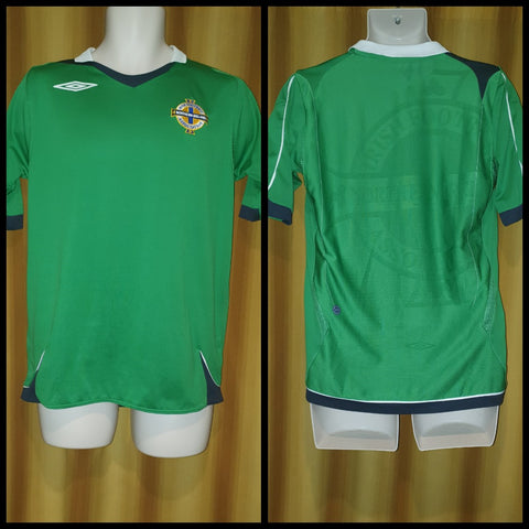 2006-08 Northern Ireland Home Shirt Size Small