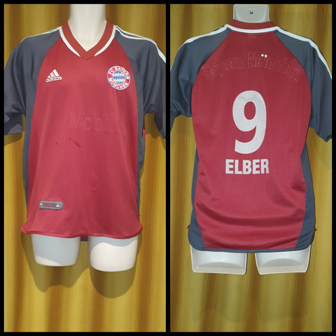 2002-03 Bayern Munich Domestic Home Shirt Size Small - Elber #9