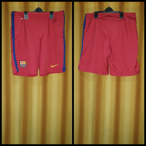2015-16 Barcelona Home Shorts Size Small