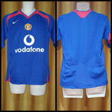 2005-06 Manchester United Away Shirt Size Small