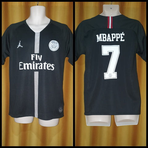 2018-19 Paris Saint Germain Champions League Home Shirt Size Medium - Mbappe #7
