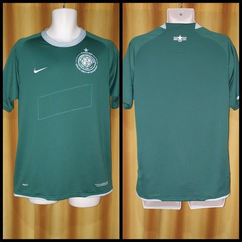 2007-08 Celtic Away Shirt Size Medium