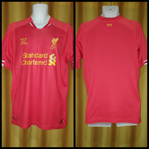 2013-14 Liverpool Home Shirt Size Large