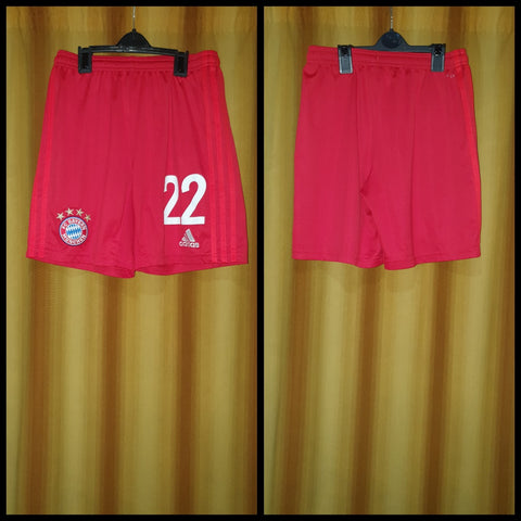 2019-20 Bayern Munich Home Shorts Size 15-16 Years - #22