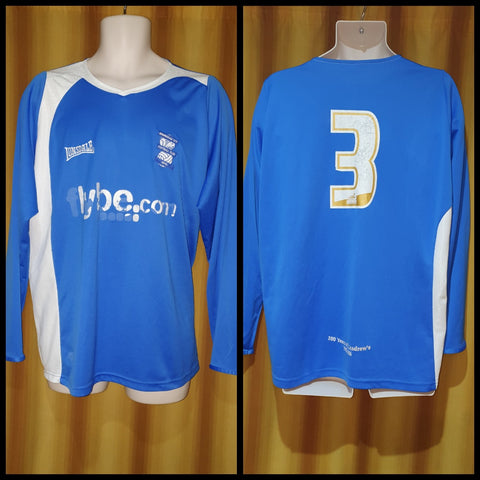 2006-07 Birmingham City Home Shirt Size XL (Long Sleeve) - #3