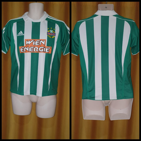 2009-11 Rapid Wien Home Shirt Size Extra Small