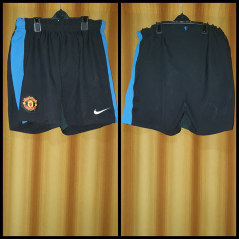2009-10 Manchester United Away Shorts Size Medium