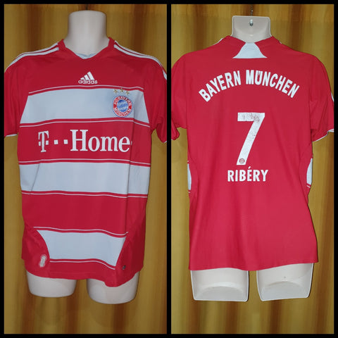 2007-09 Bayern Munich Home Shirt Size Medium - Ribery #7