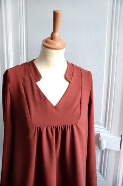Blouse Agathe - Terracotta