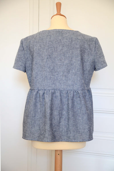 ♡ Blouse Charlotte - chambray ♡