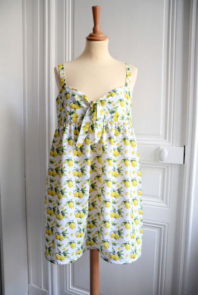 ♡ Robe top Charlotte - motif citrons ♡
