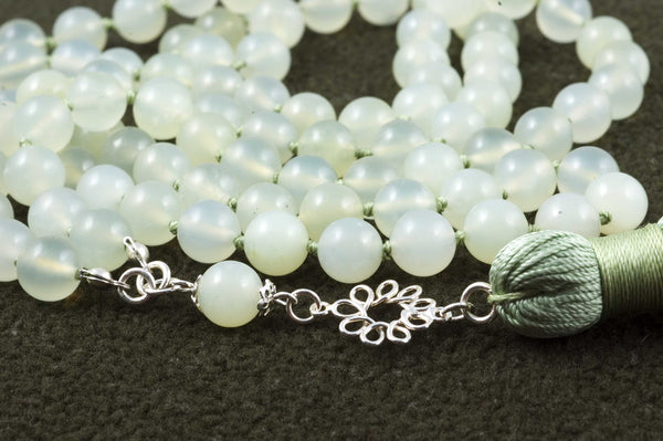 Green New China Jade Prayer Beads