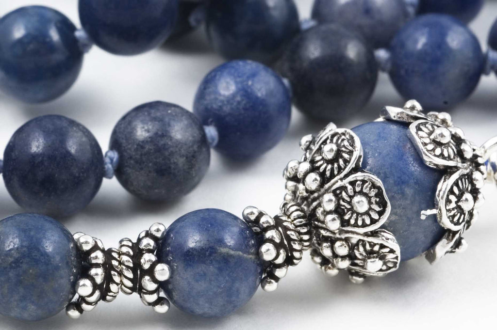 Blue Aventurine Prayer Beads